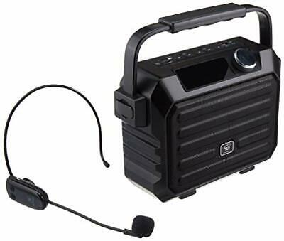 $168.43 • Buy Portable Mini Bluetooth PA System With Wireless Headset Microphone 30W Personal