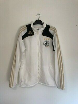 Germany Track Training Medium M Football Jacket Drill Top Zip Up Adidas • 21.95£