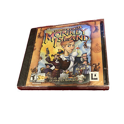 £14.03 • Buy Escape From Monkey Island - PC Computer Game Complete - Mint Discs, 1 Owner !