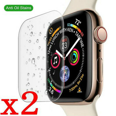 $ CDN1.74 • Buy 9H Tempered Glass Screen Protector Film For Apple Watch Series 4 40MM/44MM