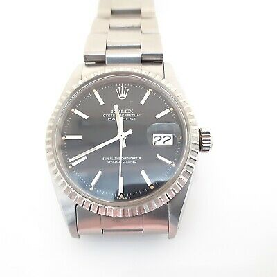 $ CDN5670.54 • Buy Rolex Datejust 36 Mm Steel Automatic Watch 1603 With Papers 1978 Back Sticker