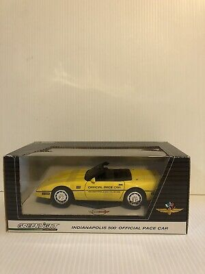 $30 • Buy 1986 Corvette Indy 500 Pace Car Greenlight Diecast 1/24 IndyCar