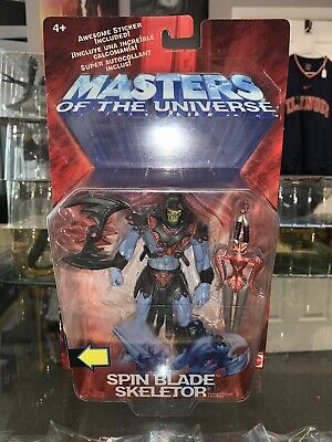 $20 • Buy 2002 Masters Of The Universe 6'' Spin Blade Skeletor Figure