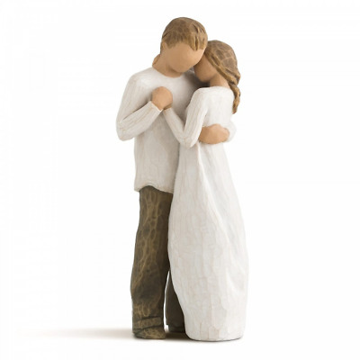 £33.40 • Buy Willow Tree Promise 26121 Woman Man Couple Figure Figurine Gift Brand New Boxed