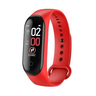 $ CDN28.99 • Buy M4 Smart Band Watch Bracelet Blood Pressure Heart Rate Fitness Tracker Wristband