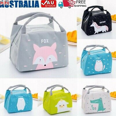 AU10.98 • Buy Portable Insulated Lunch Box Bag Picnic Tote Cooler For Women Ladies Girls Kids