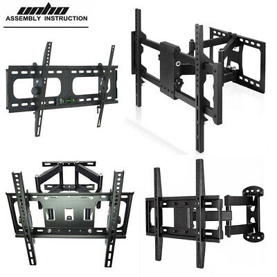 $19.92 • Buy Various TV Wall Mount Universal TV Bracket Wall Hanger TV Holder Stand 22-85inch