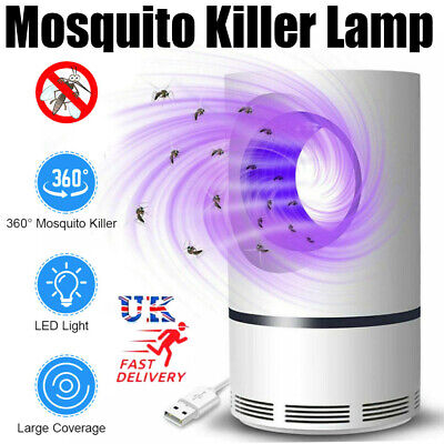 Electric Insect Mosquito Fly Killer Bug Zapper UV Home Indoor Pest Catcher Trap • 8.49£