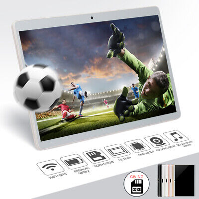 AU118.99 • Buy 10.1 Bluetooth 8+512GB Tablet Android 9.0 WiFi Phablet PC Dual Camera GPS 32G TF