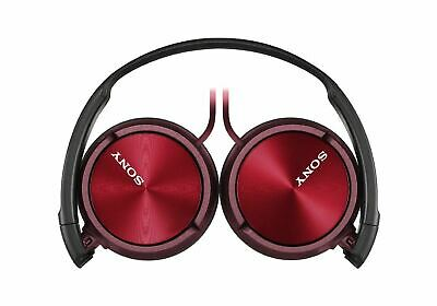 Sony MDR-ZX310 On-Ear Stereo Headphones - Foldable - Metallic Red  • 17.99£
