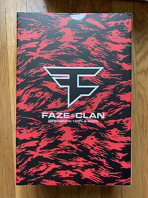 $499.99 • Buy Bear Brick X Faze Clan 100% & 400% Set FAST FREE SHIPPING