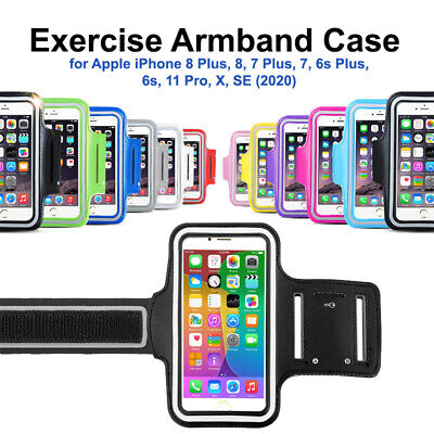 AU5.69 • Buy 1x Armband Running Sports GYM Strap Case IPhone 11 Pro/ SE/ X /8 Plus 8/ 7 Plus
