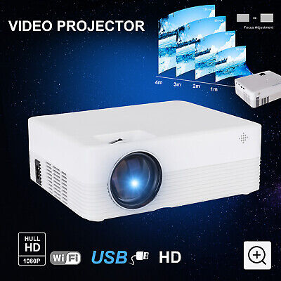 AU52.38 • Buy 2020 New Mini Projector Pocket LED Home Cinema HD 1080P Portable Cinema HDMI USB