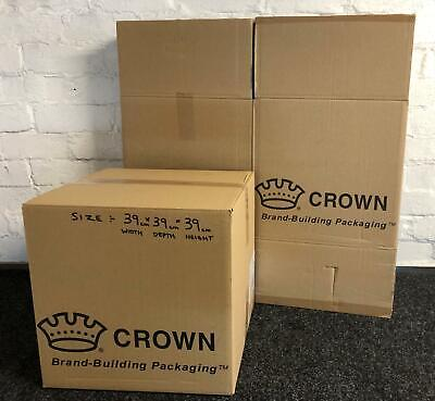 10 X Large Strong Double Wall Box Removal Moving Packing Cardboard Boxes B • 15.99£