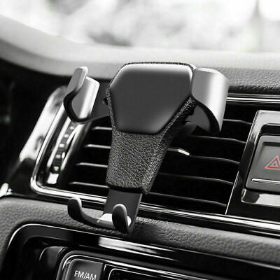 AU11.98 • Buy Universal Gravity Car Holder Mount Air Vent Stand Cradle For Mobile Cell Phone