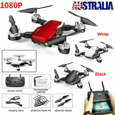 AU62.98 • Buy AU WIFI Drones Selfie FPV With 1080P HD Camera Foldable RC Aircraft Quadcopter