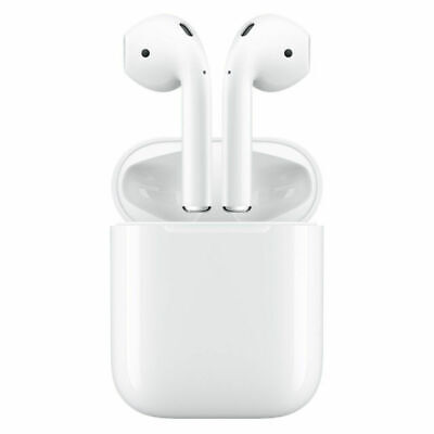 $ CDN183.96 • Buy Apple Airpods Wireless Earbuds With Charging Case - White