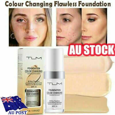 AU13.56 • Buy Magic Flawless Color Changing Foundation TLM Makeup Change To Your Skin Tone HA