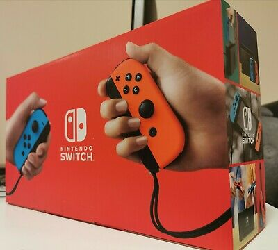 AU490 • Buy BRAND NEW Nintendo Switch Console Neon Blue 2019 Version