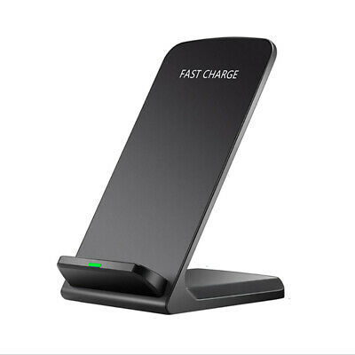AU17.59 • Buy 10W Qi Wireless Charger Charging Stand Dock For Samsung S20 S10 I Phone X XS XR
