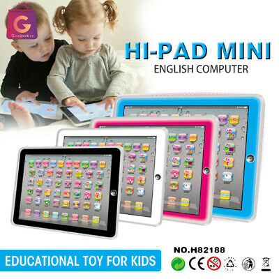 £11.55 • Buy Baby Tablet Educational Toys Girls Toy For 1-3 Year Old Toddler Learning English