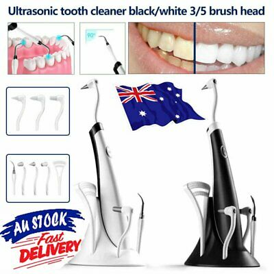 AU20.25 • Buy 5IN1 Tooth Polishing Cleaner Ultrasonic LED Electric Oral Teeth Cleaning Kit HA