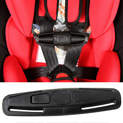 Car Safety Seat Strap Chest Clip Buggy Harness Lock Buckle Highchair Anti Escape • 2.39£