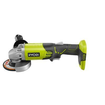 RYOBI Angle Grinder 18-Volt Lithium-Ion Cordless Brushed Handle Speed Control • 43.42£