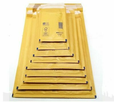 £22.99 • Buy Genuine Featherpost Gold Padded Jiffy Bubble Envelopes Bags *all Sizes/qty's* Uk