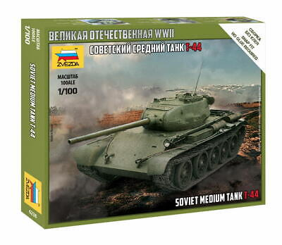 AU10 • Buy Zvezda 1/100 Soviet Medium Tank T-44