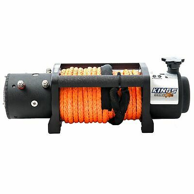 AU449 • Buy Kings Domin8rX 4WD Electric Rope 12000lb Winch Wired Controller 4X4 7.2hp Motor