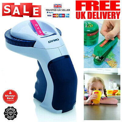 Dymo Embosser Tape Home Embossing Label Maker Office Labeling Omega Handheld New • 19.99£
