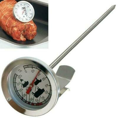 Meat Dial Thermometer Chicken Poultry Food Probe BBQ Cooking Stainless Steel • 4.19£