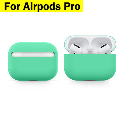 AU7.95 • Buy Airpods Pro Case Earphones Silicone Cover Ultra Slim Light Matt Finish For Apple