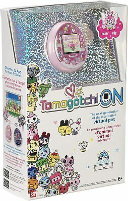 AU129 • Buy Tamagotchi Tama On Fairy Pink Interactive Virtual Pet Exclusive Character NIB