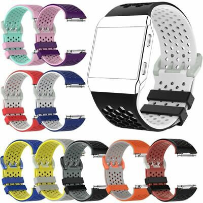 $ CDN13.26 • Buy Replacement Silicone Sport Watch Band Wristband Bracelet Strap For Fitbit Ionic