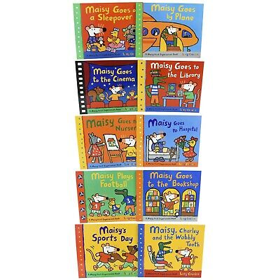 $22.99 • Buy Maisy Mouse 10 Picture Books Children Collection Paperback Set By Lucy Cousins