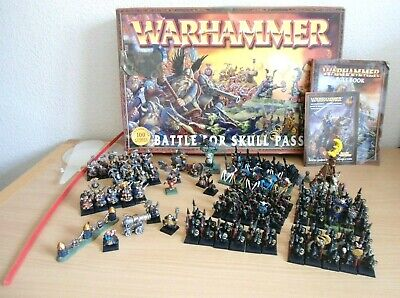 Warhammer Battle For Skull Pass Games Workshop Figure Game Set With The Box • 139.99£