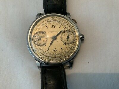 $ CDN940.43 • Buy Nicolet Watch Chronograph Vintage Circa 1940