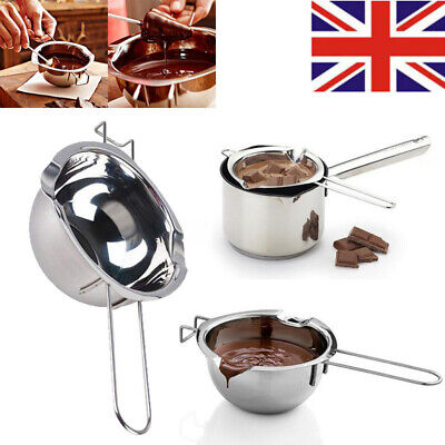 Stainless Steel Chocolate Butter Melting Pot Pan Milk Bowl Boiler Cooking Tools • 6.65£