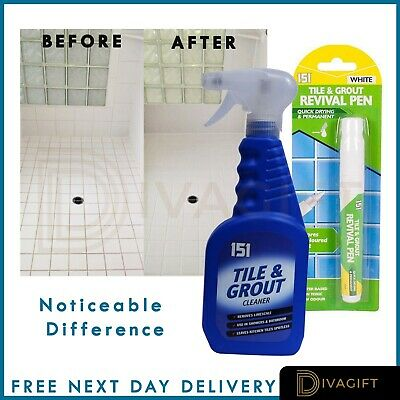 151 Grout Cleaner Floor Tile Wall Bathroom Kitchen Ready To Use 500ml • 5.70£