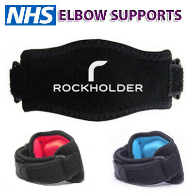 Tennis Elbow Strap Support Gym Brace Golfers Epicondylitis Band Clasp Arthritis • 3.49£