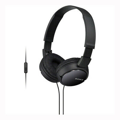 AU54.80 • Buy Sony MDR-ZX110AP Extra Bass Over-Ear Smartphone Headphones - Black - [Au Stock]