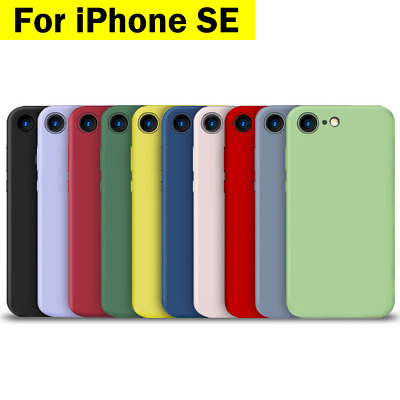 AU7.96 • Buy IPhone SE 2020 7 8 11 PRO MAX  Case Silicone Shockproof Bumper For Apple Phone