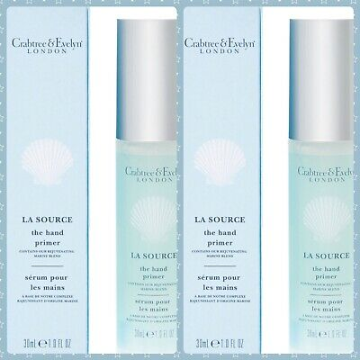 Crabtree And Evelyn La Source The Hand Primer 30ml X2 • 24.99£