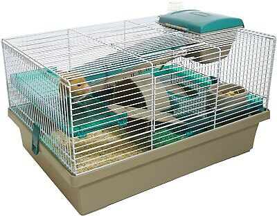 Rosewood Hamster Cage House With Accesories • 52.99£