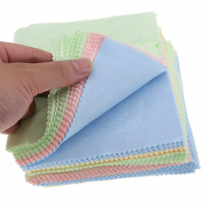 100pcs Large Microfibre Glasses Camera Lens Spectacle Microfiber Cleaning Cloth • 3.82£