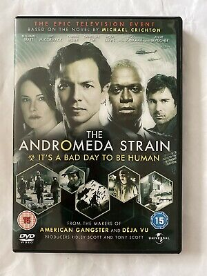The Andromeda Strain - The Mini-Series - Complete (DVD, 2008, 2-Disc Set) • 8£