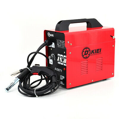 Red 120Amp MIG Welder No Gas Flux Core Gasless Welding Machine With Mask & Kit • 95.95£