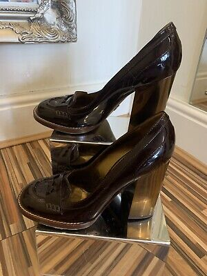 £89.99 • Buy Brown Patent Dolce & Gabbana Shoes Size 41
